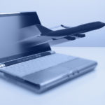 Laptop with Airplane ca. 2003